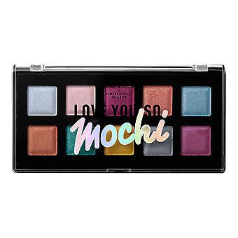 NYX PROF. MAKEUP Love You So Mochi Eyeshadow Palette Electric Pastels