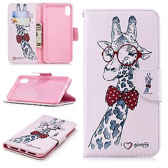 iPhone XS Max Plånboksfodral - Giraffe