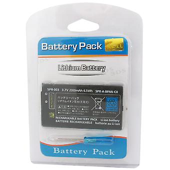 Battery with screwdriver for Nintendo 3DS XL