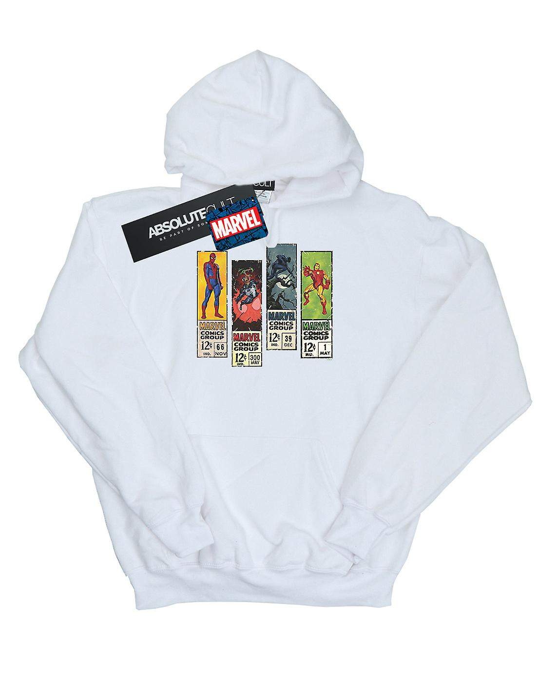 Marvel Men's Comic Strips Hoodie