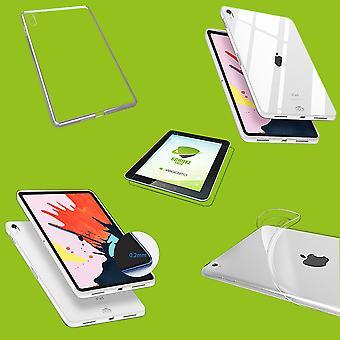Para Apple iPad Pro 11.0 polegadas 2018 / iPad Air 2020 4. Gen Transparent Sleeve Case Cover + HD LCD FOIL