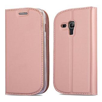 Case til Samsung Galaxy S3 MINI Foldbar telefonkasse - Cover - med standfunktion og kortplads