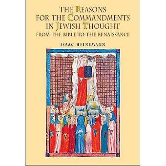 Las razones de los mandamientos en pensamiento judío - de la Biblia