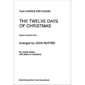 Tolv dager av julen: vokal score