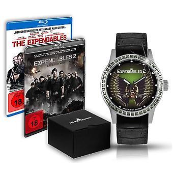 Jacques Lemans et-225.1-montre-bracelet, femme, en cuir, couleur: noir