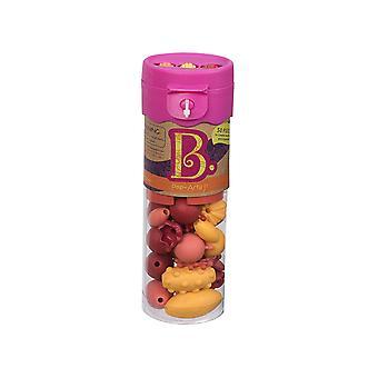 B. lelut kauneus Pops korut Craft Set-kuuma vaaleanpunainen