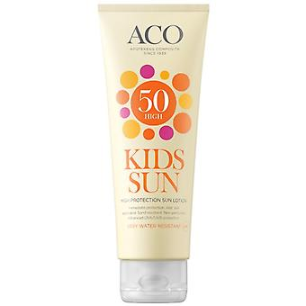 ACO Kids Sun Lotion SPF 50 125ml ACO Kids Sun Lotion SPF 50 125ml
