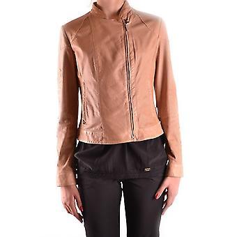 Brema Ezbc146022 Women's Beige Nylon Outerwear Jacket