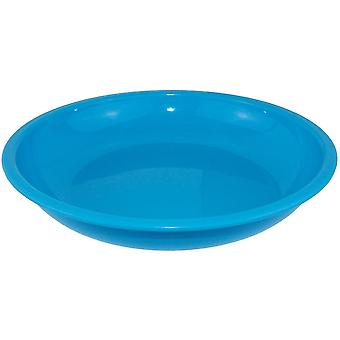 Yellowstone Plastic Camping Bowl Blue 20cm