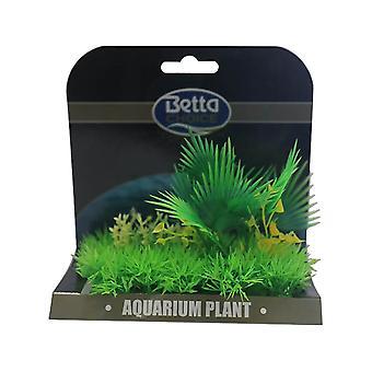 Betta Choice Medium Plant Mat - Green & Yellow