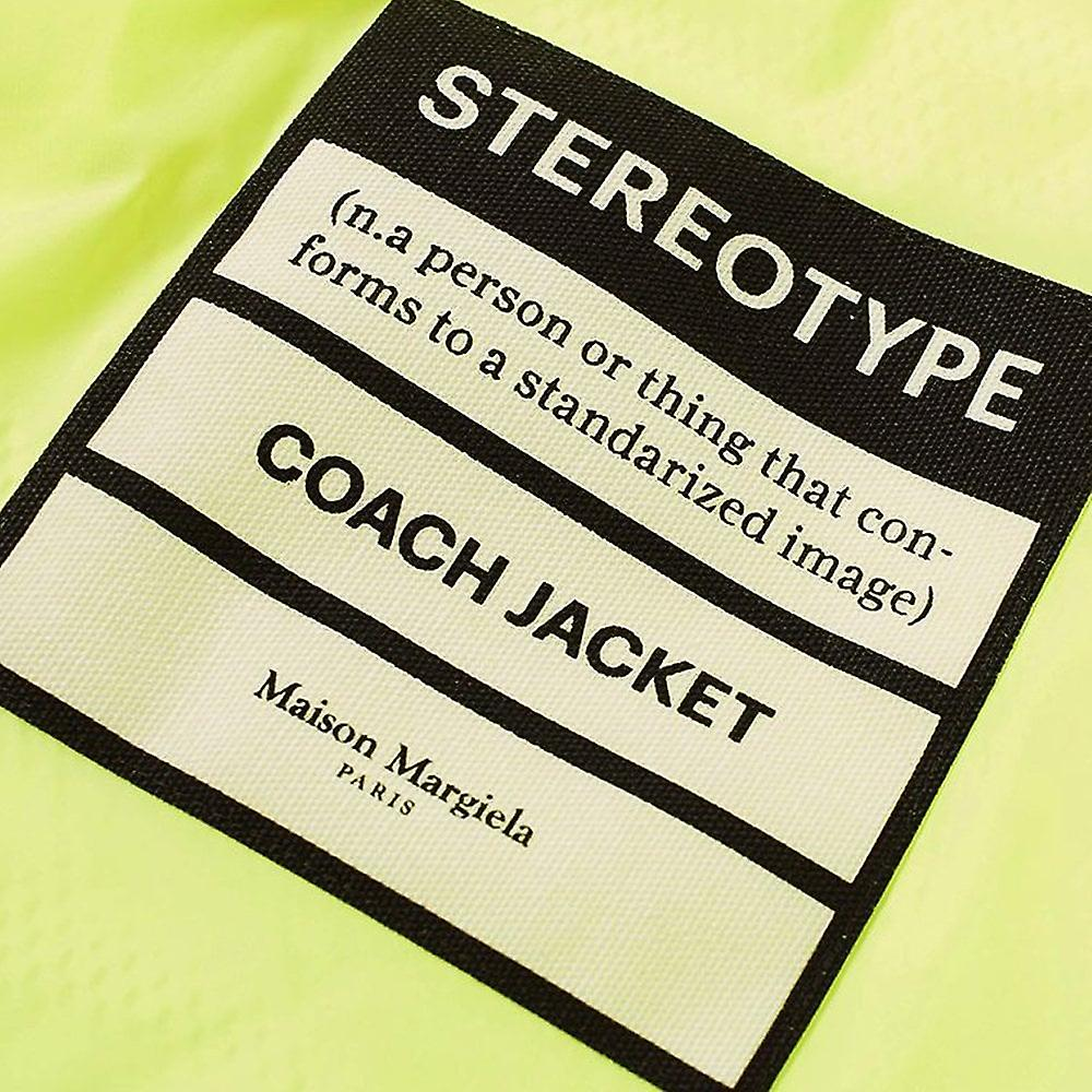 Maison Margiela 10 Stereotype Coach Jacket Yellow