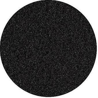 Self-adhesive velour Fleece Black