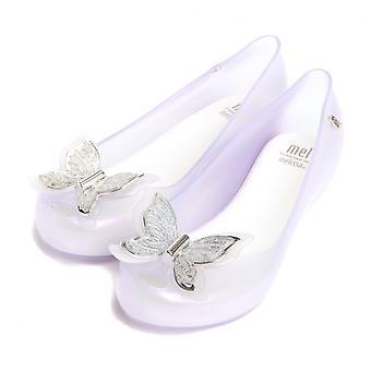 Melissa Shoes Mini Melissa Kids Ultragirl Butterfly Pumps,Glass