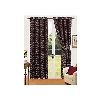 Comfort Collection Eyelet Curtain - Sierra