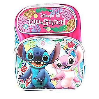 Medium Backpack - Disney - Lilo and Stitch Pink 14