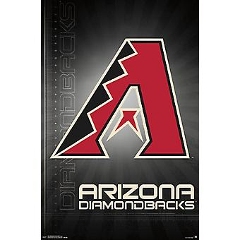 Poster - Arizona Diamondbacks - Logo 16 New Wall Art 22