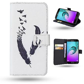 Samsung Galaxy A5 2016-cases/wallet leather-springs