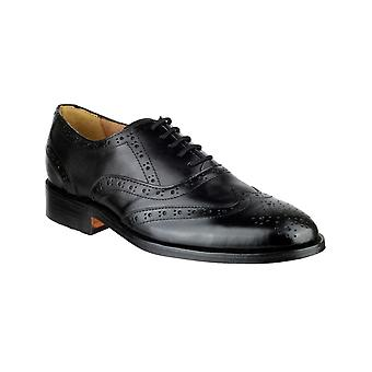 Amblers Mens Ben Leather Soled Oxford Brogue Noir