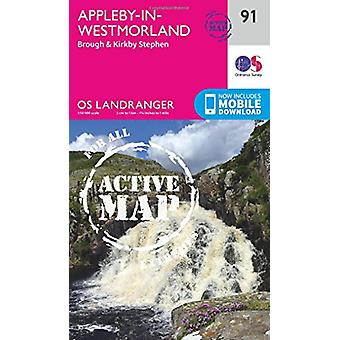 Appleby-In-Westmorland by Ordnance Survey - 9780319475409 Book
