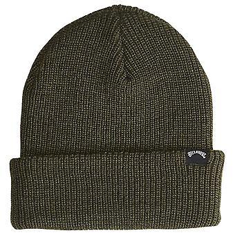 Billabong Knitted Cuff Beanie ~ Arch military