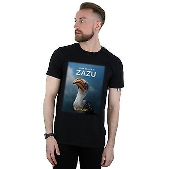Disney Men's The Lion King Movie Zazu Poster T-Shirt