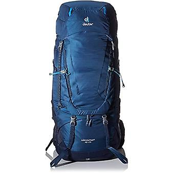 Deuter Aircontact 45 th 10 Backpack Casual 78 centimeters 55 Blue (Midnight-Navy)