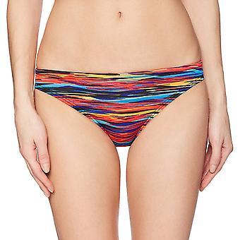TYR Womens Bonzai clássico bikini bottom, azul multi, X-pequeno