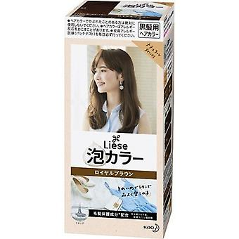Kao Liese Reettia Bubble Hair Dye Royal Brown110Ml