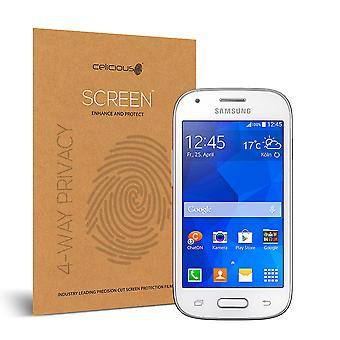 Celicious de confidențialitate plus 4-Way Anti-Spy filtru ecran protector film compatibil cu Samsung Galaxy Ace Style