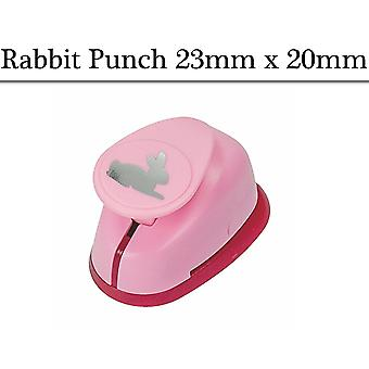 25mm Medium Rabbit Lever Action Craft Punch | Papercraft Punches