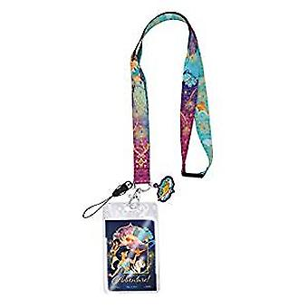 Lanyard - Disney - Aladdin (Purple) w/Soft Touch Dangle New 86213