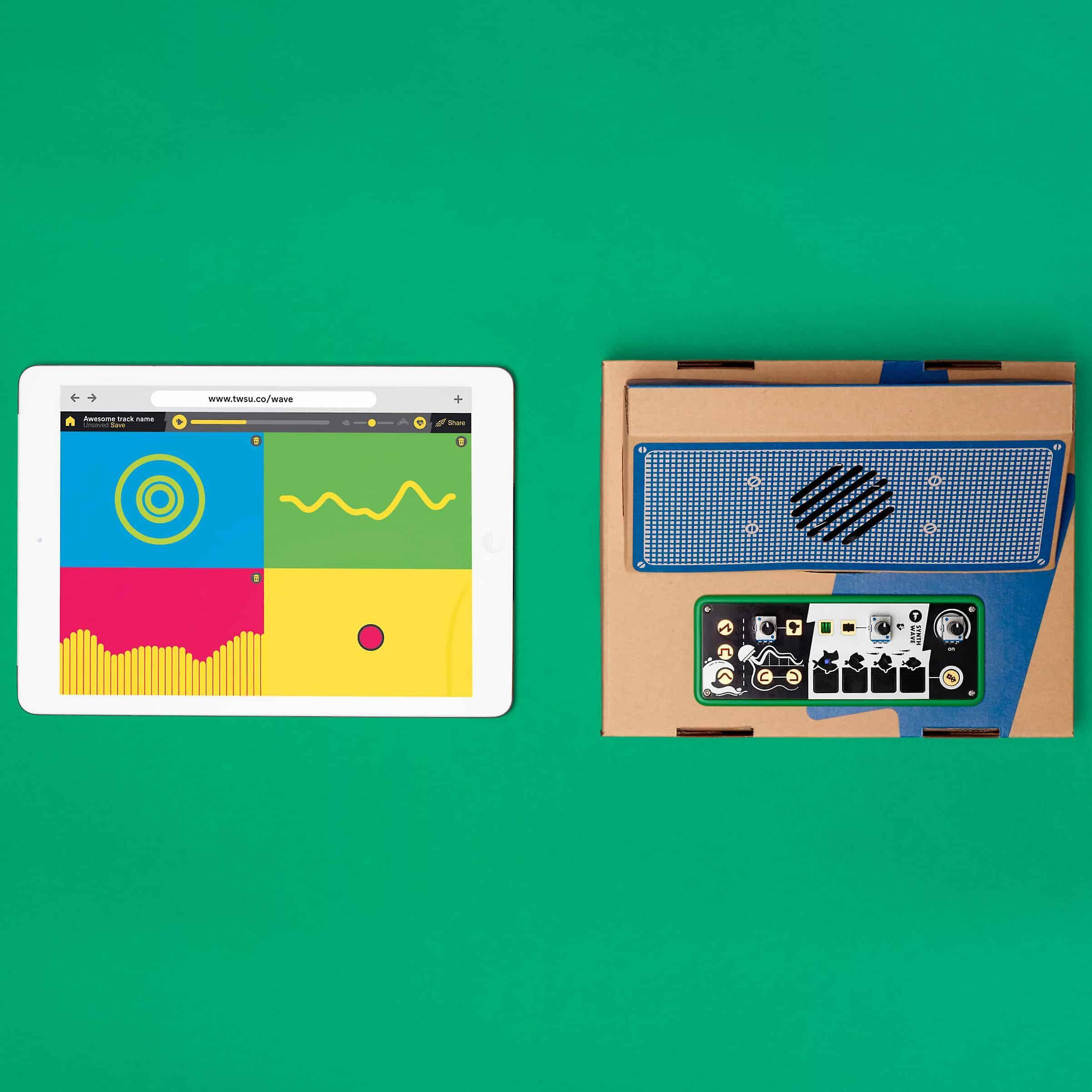 Tech zal ons te redden synth Wave Kit | Educatief muziek speeltje, vanaf 8 jaar