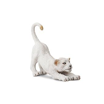 CollectA White Lion Cub - Stretching