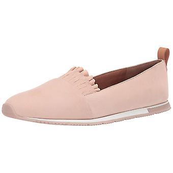 Gentle Souls Women's Luca-Ruffle Slip on Sneaker