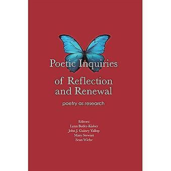 Poetiska undersökningar av reflektion och förnyelse