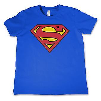 Superman Kinder T-Shirt Logo