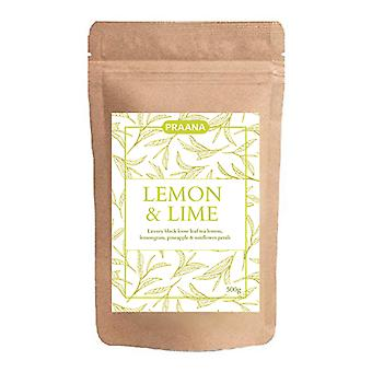 Praana Tea Luxury Black Tea + Real Lemon And Lime Pieces Catering Pack