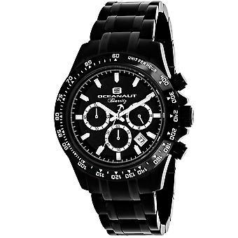 Oceanaut Men's Biarritz Black Dial Watch - OC6114