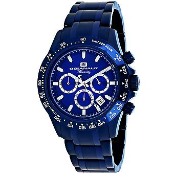 Oceanaut Men's Biarritz Blue Dial Watch - OC6117