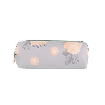 Jewelcity Womens/Ladies Lilac Scattered Floral Pencil Case/Makeup Bag