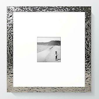 Modern Photo Frame Square Canterbury Picture Poster Wide Silver Wall Mounted