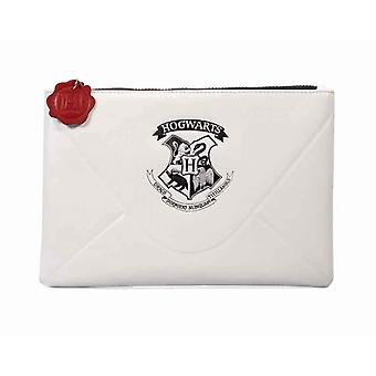 Harry Potter Purse Travel Pouch Hogwarts Letters Privet Drive Zip top Official