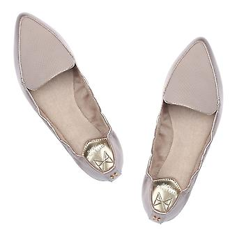 Butterfly Twists Amber Non Folding Pointed Toe