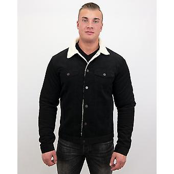 Denim jacket - Trucker Jack - Black