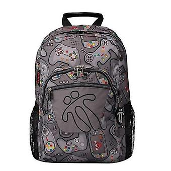 Cartable Game Totto Acuareles Gris (44 X 35 x 14 cm)