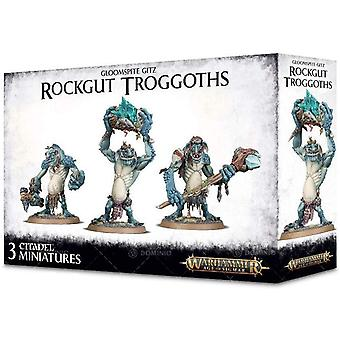 Games Workshop - Warhammer Age of Sigmar - Gloomspite Gitz: Rockgut Troggoths