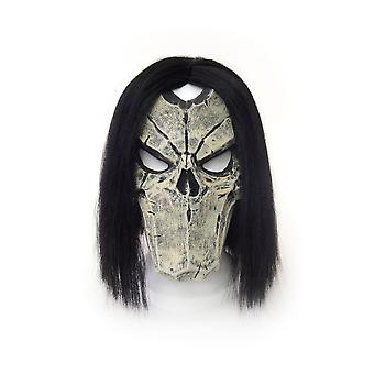 Darksiders II Death Maske  multicolor, bedruckt, aus Latex.