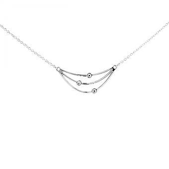Collier et pendentif Les Interchangeables A59167   - Orbite Palladium Femme
