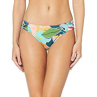 La Blanca Women's Side Shirred Hipster Bikini Swimsuit, MultiColor, Size 8.0