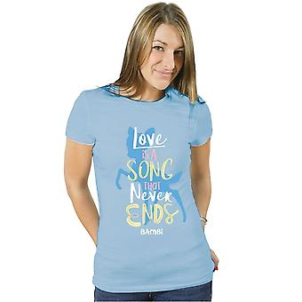 Bambi Love Is A Song That Never Ends Official T-Shirt